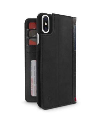 Twelve South BookBook for iPhone X - Black