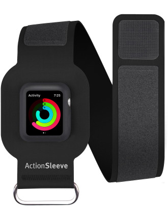 Twelve South ActionSleeve for Apple Watch (38-L) - Black
