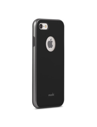 MOSHI iGlaze for iPhone 8/7 - Metro Black