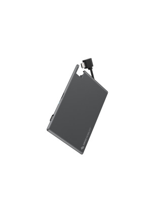 SM Alloy Battery Card 1350mAh w/Integrated Lightning
