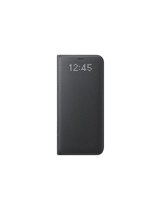 GALAXY S8 PLUS  LED VIEW COVER BLACK