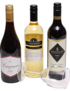 Three Bottle Wine Pack- UK Delivery $124.00