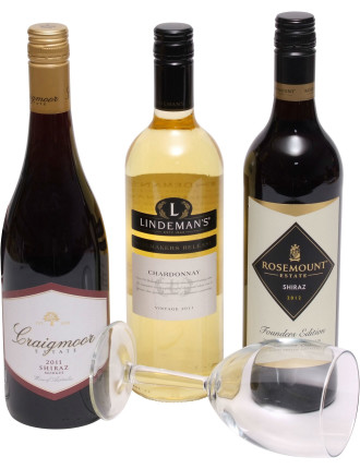 Three Bottle Wine Pack- UK Delivery