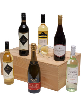 Six Bottle Wine Pack- UK Delivery