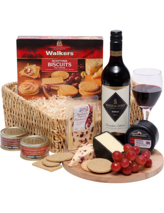 Wine, Cheese & Pate - EU Delivery