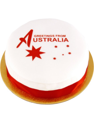 Greetings From Australia Cake- UK Delivery