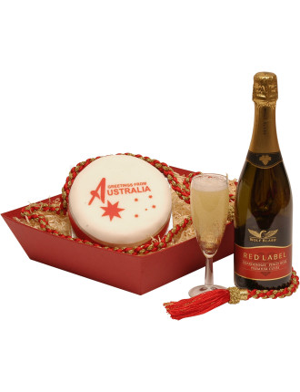 Uk Australian Bubbly & Cake