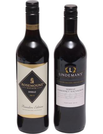 UK 2 Bottle Australian Wine Pack (Red)