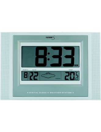Wall Clock With Weather Icons