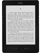Kindle Wifi 6' E-Ink Black $99.00