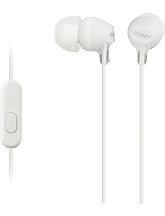 Earphones Mdr-Ex15ap White