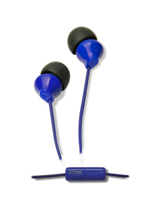 TDK SP50 Earphones Blue