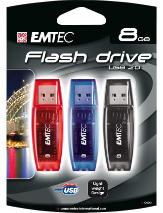 Emtec 8gb C400 Usb Triple Pack