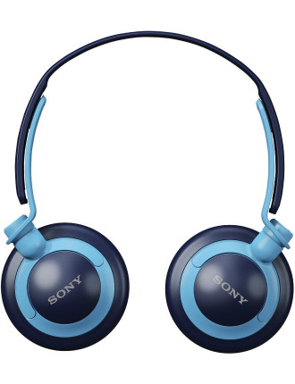Headphones Extra Bass Blue