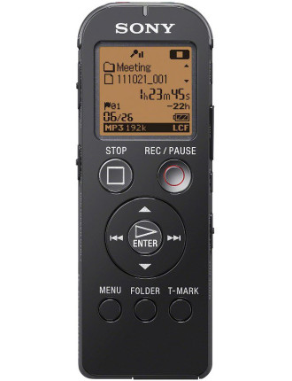 Sony Notetaker ICDUX523FB