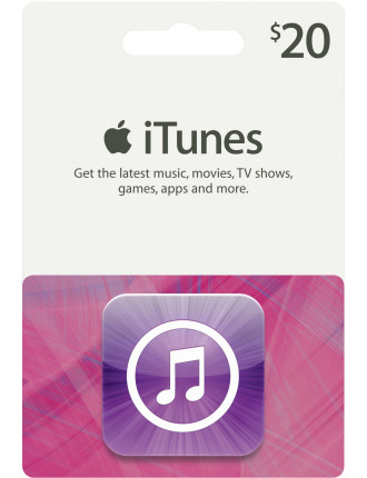 iTunes $20