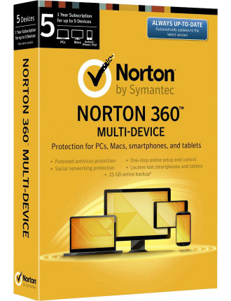 Norton 360 Multi Device 5 User