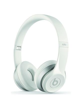 Solo 2 On-Ear White