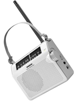 Sangean Am/Fm Portable Radio