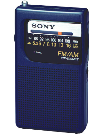 SONY Micro AM/FM Radio