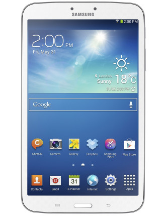 Galaxy Tab3 8 16gb Wi-Fi White