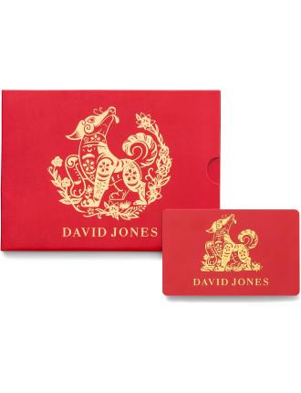 David Jones Chinese New Year Gift Card