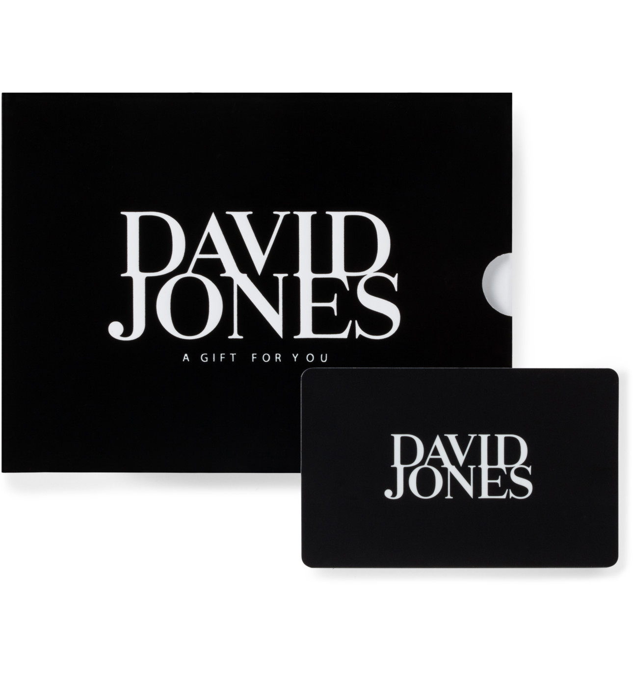 Clic Gift Card Black David Jones