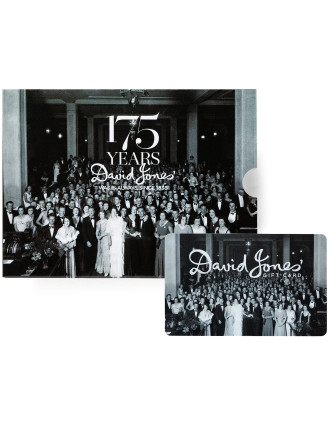 175th Anniversary Gift Card - Limited Edition