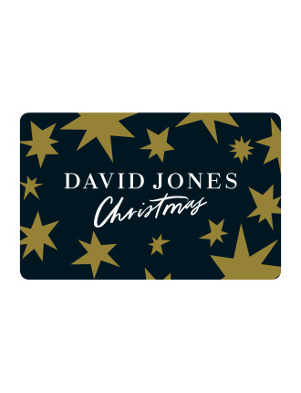 LIMITED EDITION David Jones Christmas Gift Card