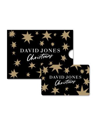 LIMITED EDITION David Jones Christmas Gift Card