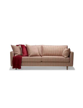 'Polly' 3.5-Seat Fabric Sofa
