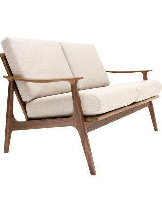 'Nowra' 2-Seat Fabric Sofa