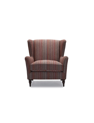 'Hadleigh' Fabric Wing Armchair