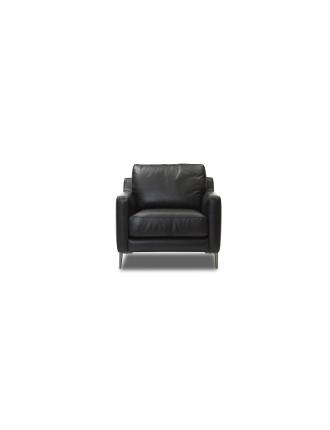 'Bradman' Leather Armchair