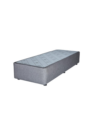 Spacesaver Charcoal Split Queen Base No Drawers