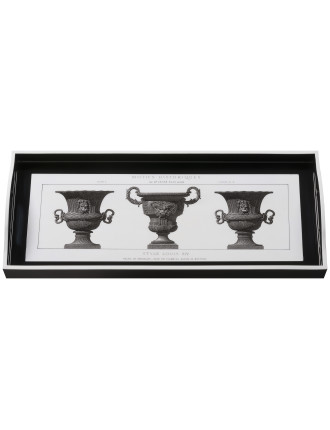 Urns Black Sandwich Tray