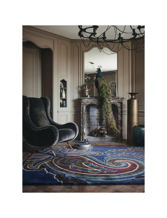 Ted Baker Paisley Navy Rug 240x170cm