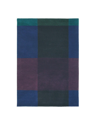Ted Baker Plaid Navy Rug 280x200cm
