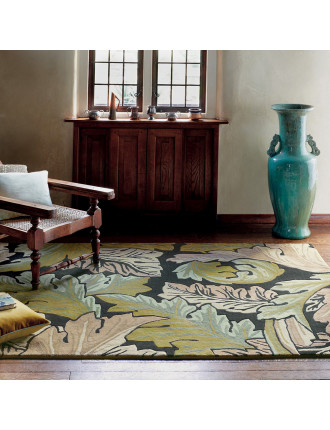 Morris & Co Acanthus Forest Rug 240x170cm