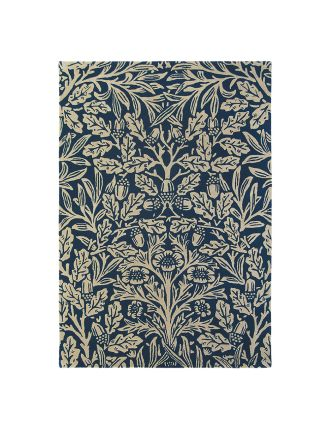 Morris & Co Oak Indigo Rug 280x200cm