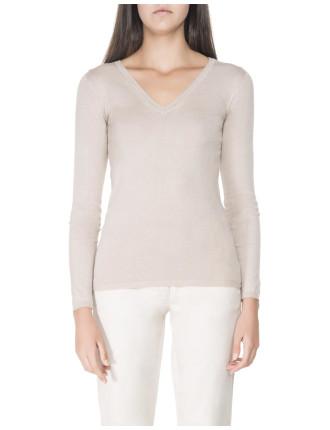 Soft V-Neck Pullover