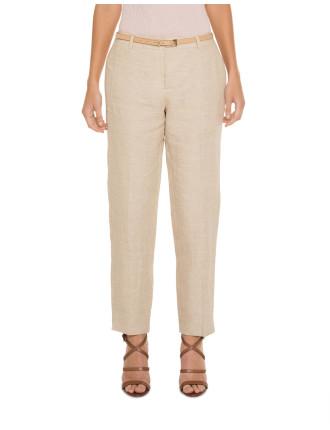 Linen Slimleg Pants