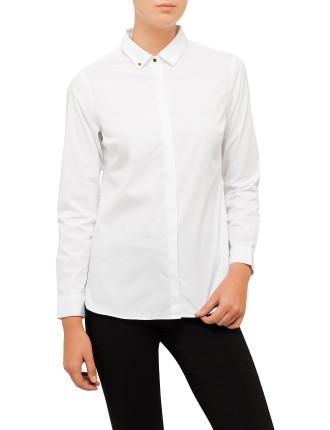 New White Cotton Shirt