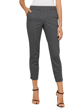Geo Stretch Cotton Pants