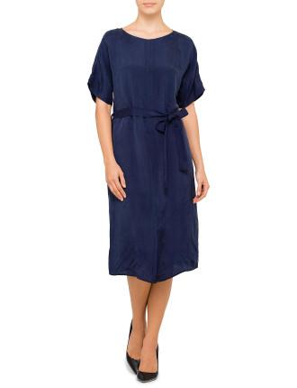 Cupro Slip Dress