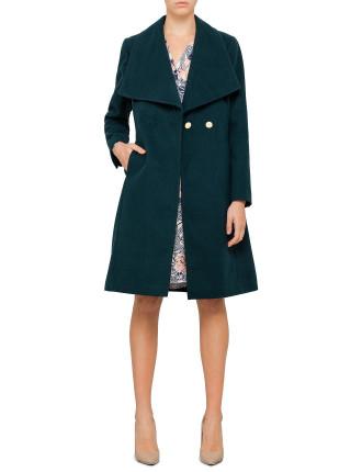 Oversize Lapel Coat