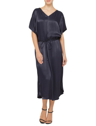 Rouched Kaftan Dress