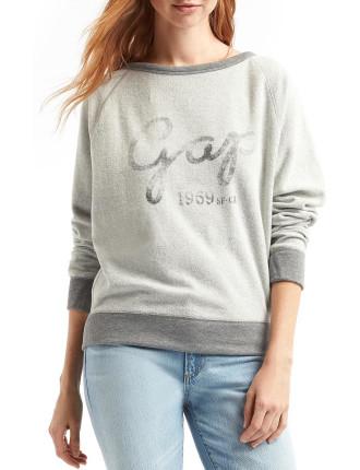 Slouchy Raglan Sweater