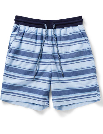 Horizontal Stripe Shorts