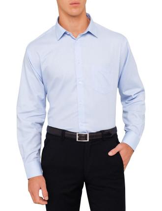 Cotton Reg Texture Shirt